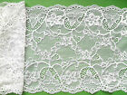 NEW~ Beautiful Stretch Lace Ivory,Black,Navy Blue,Purple,Silver Grey 17cm/6.75""