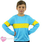CHILDS HORRID BOY OUTFIT YELLOW BLUE BOOK WEEK JUMPER FANCY DRESS COSTUME