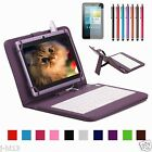 """Micro Keyboard Leather Case Cover+Gift For 8"""" Nextbook Ares 8 Android Tablet"""