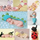 Nice Born Baby Girl/Boy Crochet Knit Costume Clothes Photo Photography Prop Hat