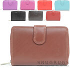 Ladies / Womens Large Soft Leather Bi-Fold Credit Card / Money Purse