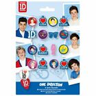 One Direction Mini Erasers - 1D Eraser Band Buttons Party Loot Bag Filler