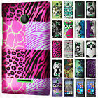 For Nokia Lumia 435 Rubberized HARD Case Snap On Phone Cover + Screen Guard