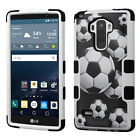 For LG G Stylo IMPACT TUFF HYBRID Protector Case Skin Phone Cover Accessory