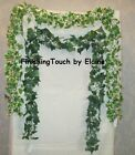 6 x 6ft long Artificial chain Link Ivy Garlands Green or Variegated. Mix n Match