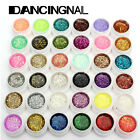 1pcs Nail Art Ongle Glitter UV Gel Couverture Extension Vernis Déco 36Couleurs