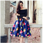 HOT WOMEN BLACK FLORAL LONG SLEEVE OFF THE SHOULDER TUTU DRESS SHEER GOWN CRUISE
