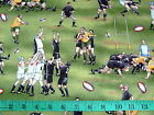 RUNNING RUGBY - 100% cotton patchwork fabric