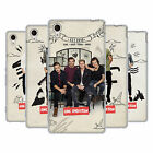 OFFICIAL ONE DIRECTION 1D PHOTO DOODLE SOFT GEL CASE FOR SONY XPERIA M4 AQUA