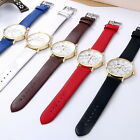 Women Vintage Analog Stainless Steel Classic Movement Quartz Date Wrist Watch