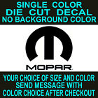 Mopar Vinyl Window decal dodge car truck tool box sticker $2.5 USD on eBay