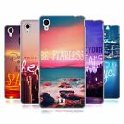 HEAD CASE WORDS TO LIVE BY SERIES 4 SOFT GEL CASE FOR SONY XPERIA M4 AQUA