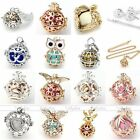 Chime Bola Ball Cage Harmony Pregnancy Baby Angel Caller Pendant Chain Necklace