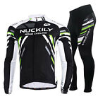 Bike Cycling Jersey Bicycle NCY Logo Clothing Long Sleeve Suit Breathable M-2XL