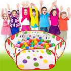 Foldable Kid Children Ocean Ball Pit Pool Outdoor Indoor Play Toy Tent 90/100cm