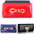 Women's Patent Bow Fashion Purse Wallet Coin Bag Present Gift For Her 514 1054