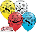 "Marvel Ultimate Spider-Man 11"" Helium Quality Bright Colour Party Balloons"