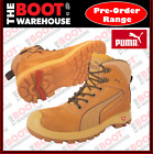 Puma Work Boots. 'Nullarbor'  630367, Composite Toe Cap Safety. Zip-Sider. NEW