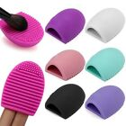 Fashion Makeup Brush Egg Cleaner Silicone Glove Scrubber Cleaning Tool Cosmetic