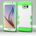For Samsung Galaxy S6 Tuff Trooper HYBRID TPU Case Skin Phone Cover Accessory