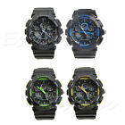 Fashion Men's LED Digital Date Waterproof Rubber Sports Army Watch Wristwatch