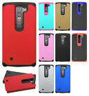 LG Volt 2 LS751 HARD Astronoot Hybrid Rubber Silicone Case Cover + Screen Guard