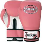 Farabi 6oz Kids Boxing Gloves Junior Bags Pads Mitts Sparring Training Pink