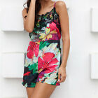 Easy Women Summer Sexy Shorts Rompers Floral Print Lace Bodysuits Jumpsuits WBCA
