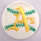 Oakland Athletics A'S Baseball Felt Sports Uniform Patch on Ebay