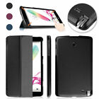 Slim Smart Shell Stand Leather Case Cover For LG G Pad F 8.0 V495 V496 Tablet PC