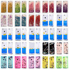 TRANSPARENT LIQUID GLITTER & DUCKS BACK CASE FOR APPLE iPHONE & SAMSUNG PHONES