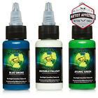 MOMs Millennium Nuclear UV Blacklight Tattoo Ink - 3 Color Set C