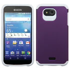 For Kyocera Hydro Wave C6740 HARD Astronoot Hybrid Silicone Case + Screen Guard