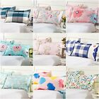 New 12 Designs 2* Pillow Cases 48x74cm 100%Cotton Decorative Couch Cushion Cover