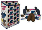 Men Memory Foam Mule Slippers Brown Blue or Black