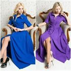 Elegant Women Cocktail Party Party Evening Dress Maxi Dress Belted Half Sleeve