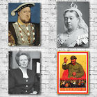World Leaders Art Canvas Print - Thatcher Chairman Mao Henry VIII Queen Liz
