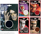 Make Up in Tray Face Paint Halloween Fancy Dress Accessory