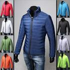 Men'S Winter  Hoodie Warm Padded Coat Down Cotton Coat Zip Thick Jacket