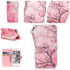 For iPhone 5s 6 6s 7 Plus Flip Diamond Pattern Leather Wallet Stand Case Cover