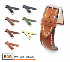 BOB Marino Vintage Calf Watch Band for Breitling, 20 & 22 mm, 7 colors, new!