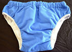 Soft Blue Adult Pull Up Nappy Diaper / Training Pants For Abdl!!