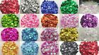 15g Sequins ~ 6mm Cup Round, Choose Colour, AB-Transparent-Opaque, Crafts Sewing