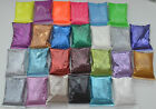10 FOR 5 SUPERFINE GLITTER SHAKER REFILL BAGS 5-100grams CARDMAKING SCRAPBOOKING