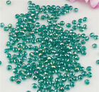DIY Jewelry 100pcs Hole green #5040 3x4mm Faceted Gems Loose Beads Crystal Beads