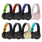 Foldable Wireless Bluetooth Stereo  Bass FM Headphone Headset For iPhone Samsung