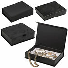 6 Large Luxury Gift Boxes Present Presentation Hinged or Removable Lid Jewellery