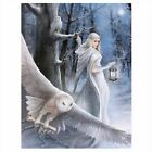 Anne Stokes Canvas Plaque Wall Hanging - Spirit Angel Water Dragon Fairy Unicorn
