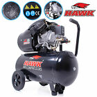 HAWK TOOLS 6 25 50 100 LITRE DIY INDUSTRIAL PORTABLE AIR COMPRESSOR TANK TOOLS <br/> CE RATED &amp; GS/TUV MARKED! FAST DELIVERY! 230V! WORKSHOP