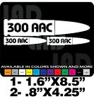 300 BLACKOUT AAC GUN DECALS AMMO CAN LABEL AR15 S&W COLT SPRINGFIELD ARMALITE